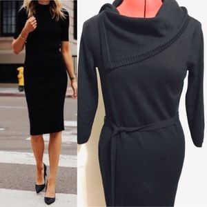 The Limited | Black Sweater Dress
